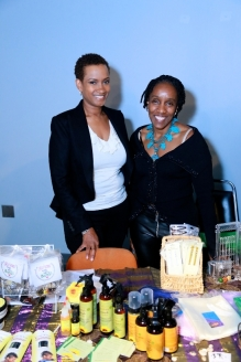 Transition's Salon - Owner, Wanda Morrison & Freind