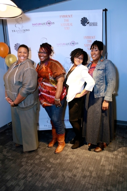 Coco of FM 98, Naturally Flyy Detroit - Etta and Jenn, and Ginny