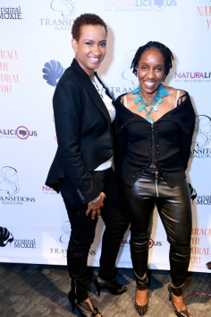 Wanda Morrison of Transitions Salon and Guest