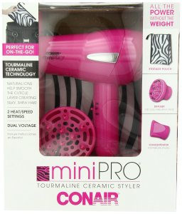 A diffuser is great for quick drying especially for a winter wash and go...and it's Pink!