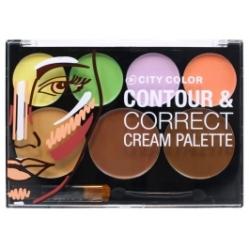 City Color Contour & Correct Cream Palette