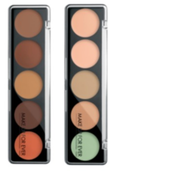 Makeup Forever 5 CAMOUFLAGE CREAM PALETTE