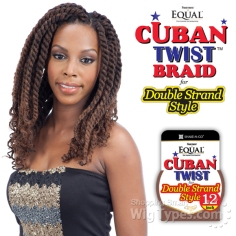 Equal Cuban Twist Braid
