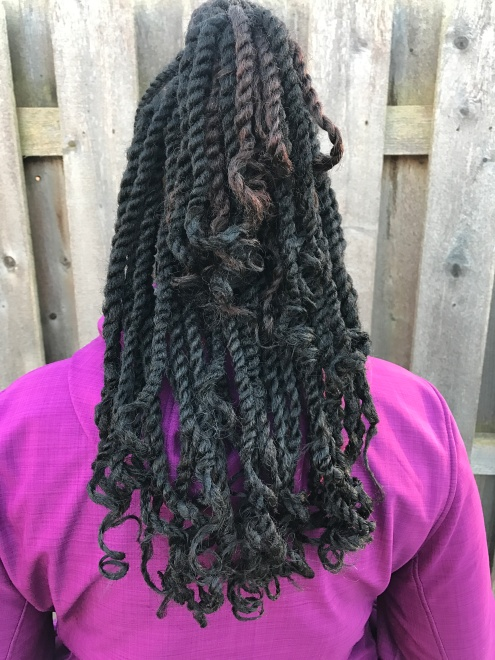 Marley Twists - 1 strand of hair in each twist
