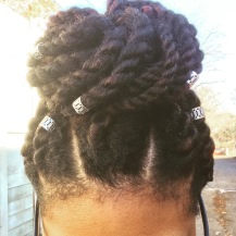 Marley Twists - - 2 strands in each twist