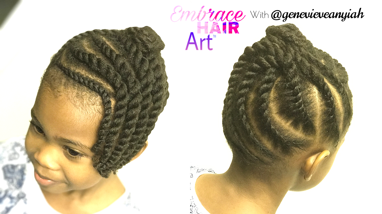 Marvelous Natural Hair Kids Easy Two Strand Twist Updo Embrace Your Tresses Schematic Wiring Diagrams Amerangerunnerswayorg