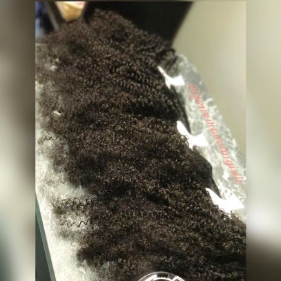 Embrace Bohemian Curl Natural Kinky Hair Extensions