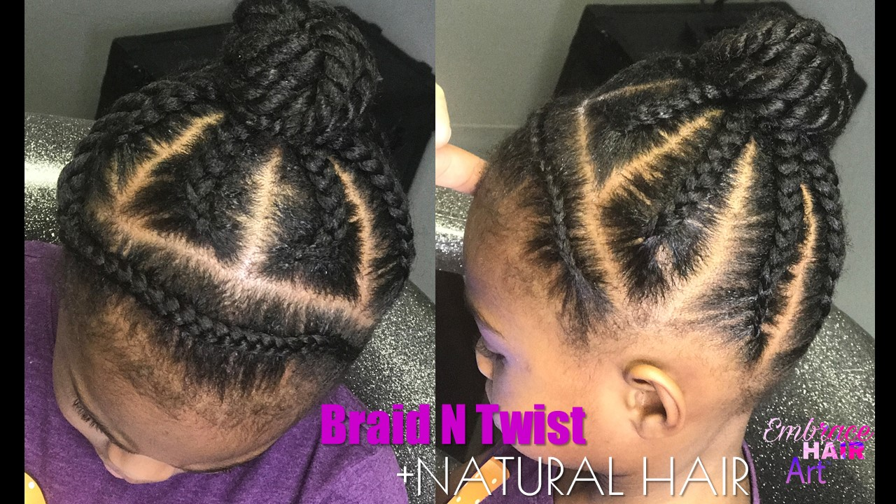 Braids And Twists Natural Hair Kids Style Embrace Your Tresses
