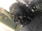 4c hair silk press